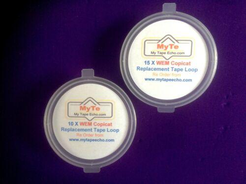 25 X Watkins//WEM Copycat //Copicat Echo Tape loops IC MK 1/& 2 All Models