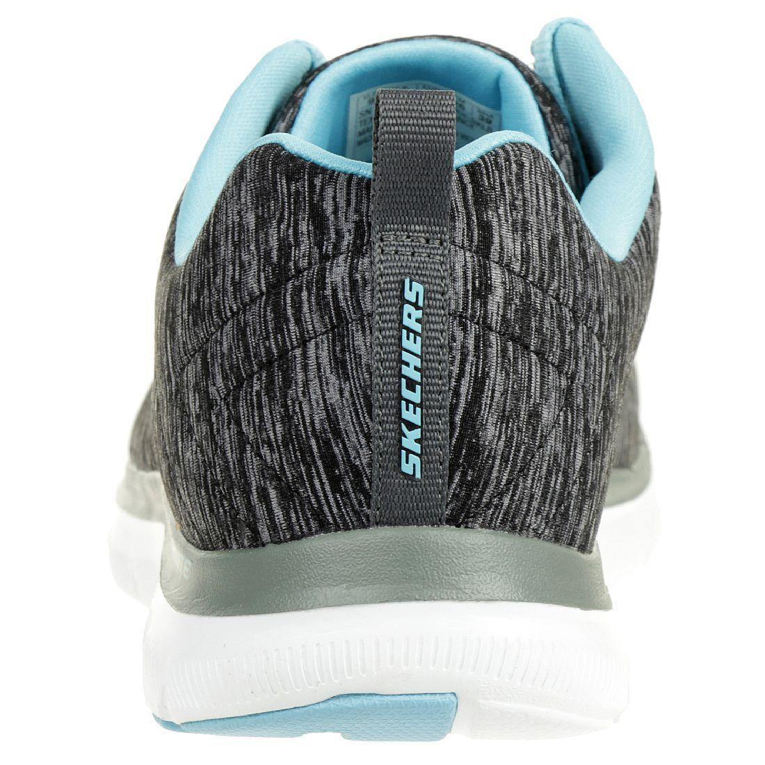 Skechers Skechers Skechers Flex Appeal 2.0 donna Fitness Scarpe Leggero Nero 000681