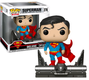 Funko Pop! Superman On Gargoyle Collection Jim Lee Deluxe - Limitée
