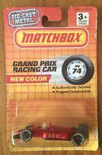 grand prix racing car matchbox 1990 MB74