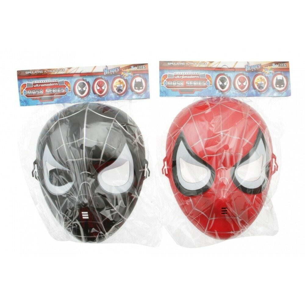 Kids Spider Hero Mask for Parties and Dress Up Games