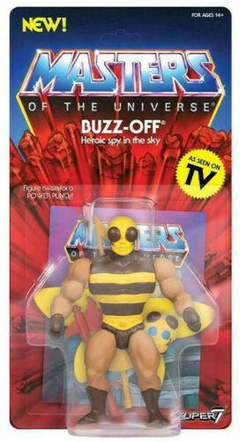 BUZZ OFF Vintage Collection MOTU Masters of the universe figurine Super 7