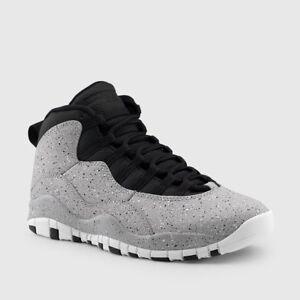 47df80d3b7d62f Nike Air Jordan Retro X 10 CEMENT Light Smoke Grey 310805-062 Lot Sz ...
