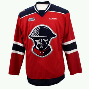 Image is loading Kitchener-Rangers-OHL-Premier-Edge-Third-Jersey-XXL- 7227f10fe21