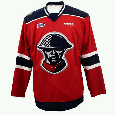 more photos 06e1a 59872 Kitchener Rangers OHL Premier Edge Third Jersey XXL Veterans or Remembrance  Day | eBay