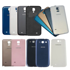 timeless design d4dcc 9ea0b Details about New For Samsung Galaxy Note 2/3/4 S3 S4 S5 Housing Battery  Back Cover Case Door