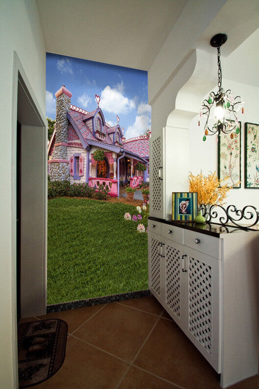 3D Fairy Tale Cottage 562 Wall Paper Wall Print Decal Wall Deco Indoor Mural