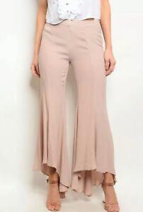 Mustard Seed Woman's Dress Pants Mauve Flare Lightweight Dress Pants Size Medium