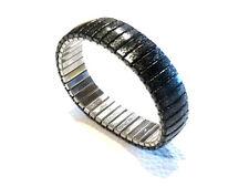 Bijou bracelet lucite façon obsidienne  largeur 1,5 cm idéal pour cadeau bangle