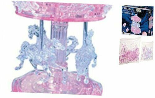 Deluxe Carousel Original 3D Crystal Puzzle