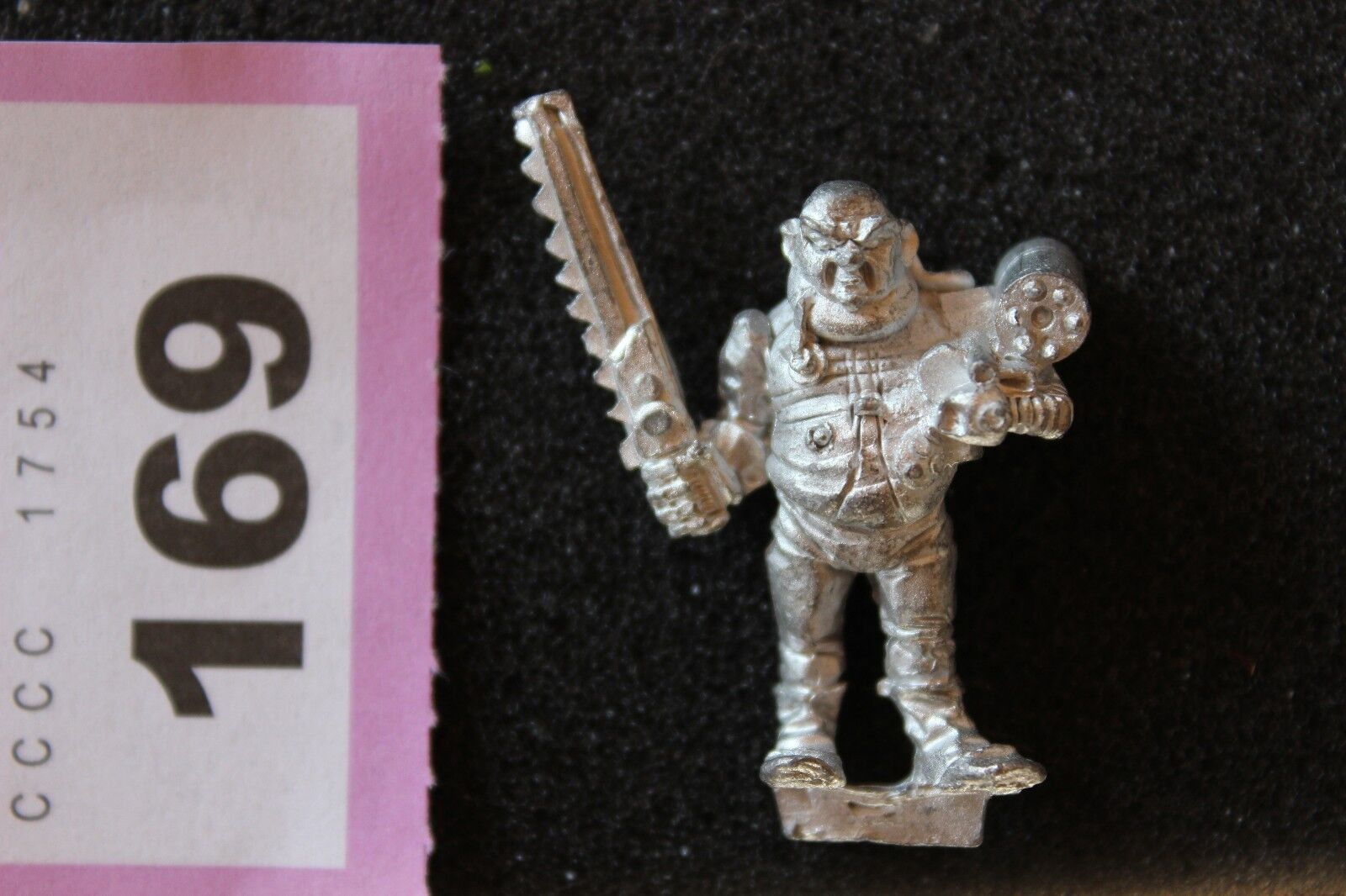 Games Workshop Warhammer 40k Rogue Trader Adventurer Chainsword Missile Launcher