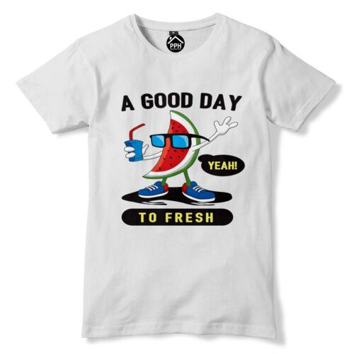 Good Day to Fresh Watermelon Funny Mens Womens Tshirt Top t shirt Summer Tee 129