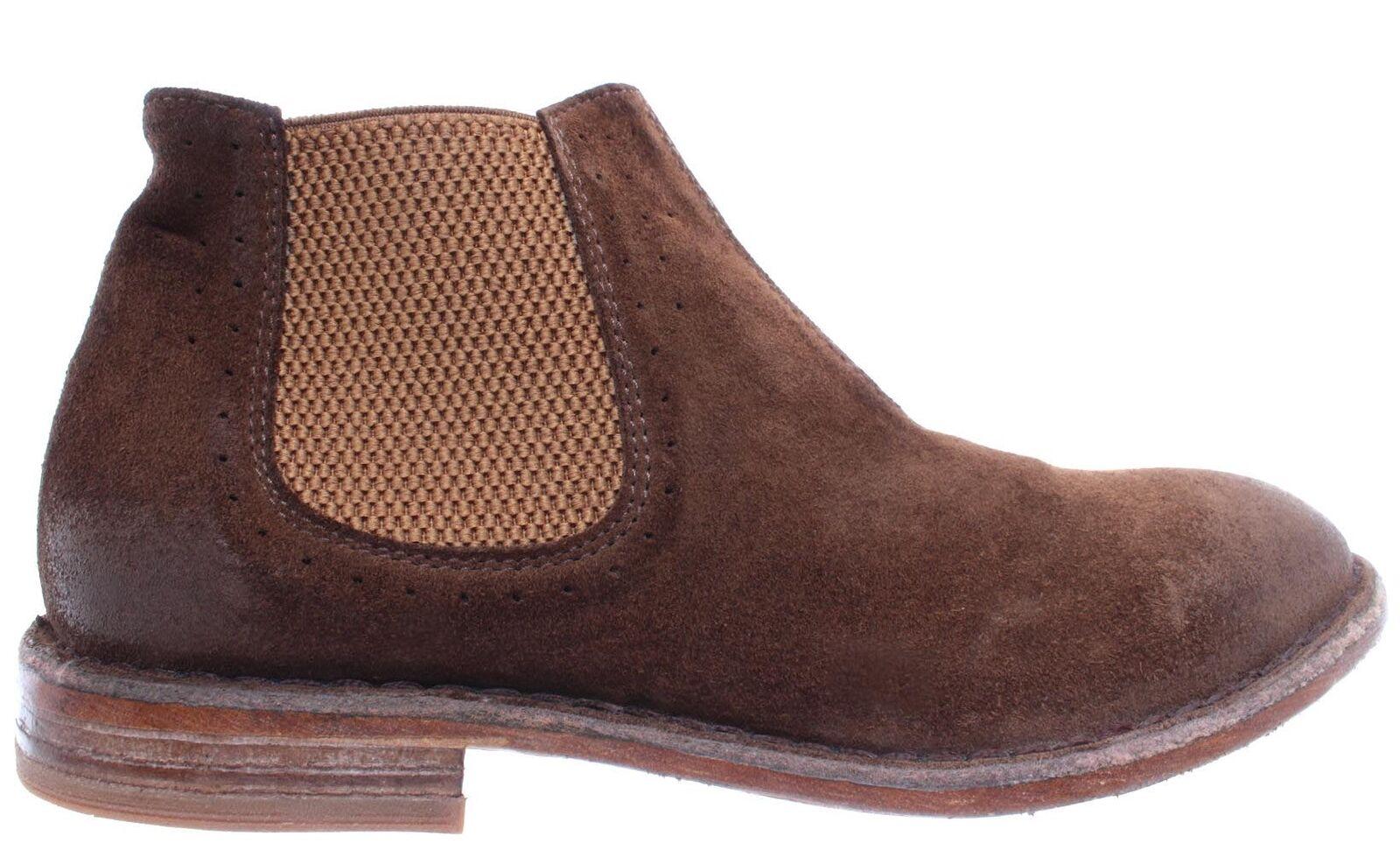 Moma zapatos señora botines 35803-y2 de gamuza marrón NUEVO