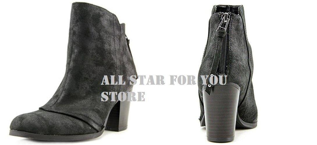 Bar III Ankle Boot Shoes Jillian Black Suede 11M