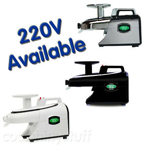 Green-Star-ELITE-GSE5000-Juicer-WHITE-BLACK-GSE5010-CHROME-GSE5050-110V-220V