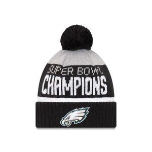 Philadelphia Eagles New Era Parade Knit 2017 Carson Wentz SUPER BOWL ... 28b6bf32e
