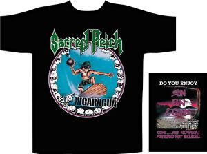 Surf Nicaragua T-shirt Herrenmode Kreativ Sacred Reich