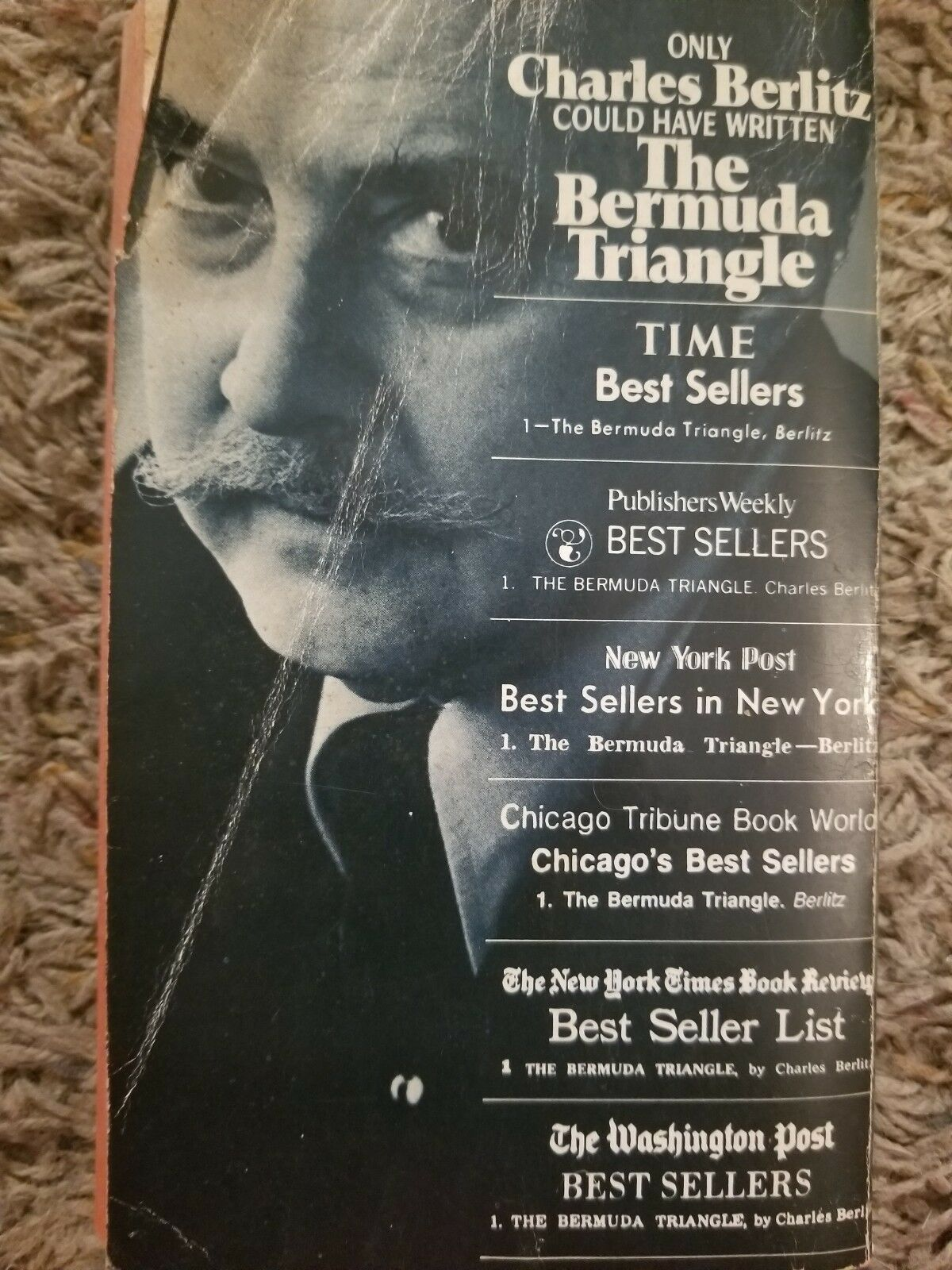 Charles berlitz book the bermuda triangle