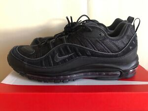 Details about Nike Air Max 98 Black Anthracite CQ4028 001 Airmax Mens Shoes Running Sneakers