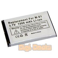 Cellphone Battery For Blackberry M-S1 Bold 9000 9700 9780 1500mAh