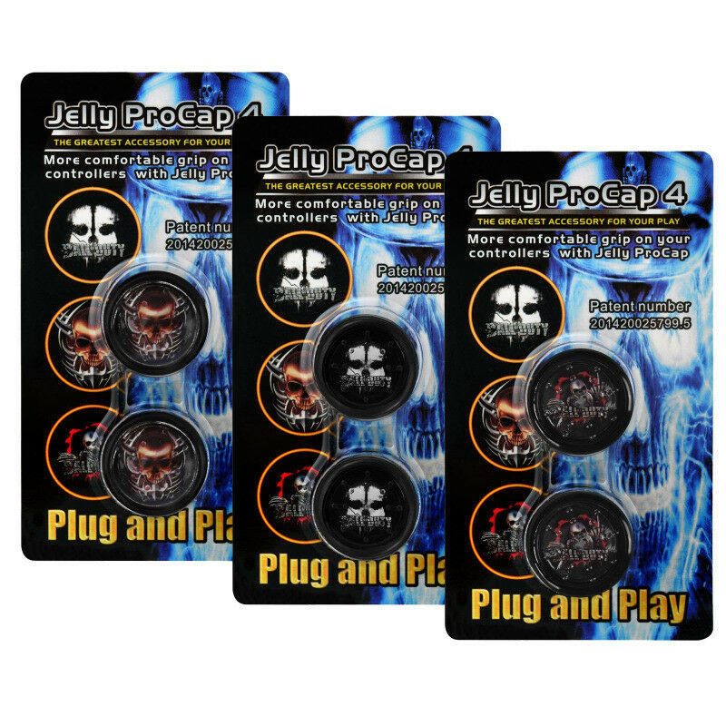 Jelly ProCap 4 Thumb Grips for PS4, Xbox One, PS3 & Xbox 360 (brand new)
