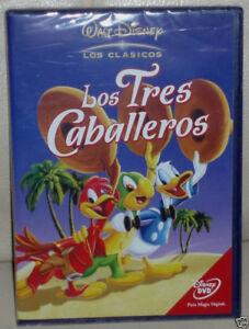 LOS-TRES-CABALLEROS-DVD-CLASICO-DISNEY-N-7-NUEVO-PRECINTADO-SIN-ABRIR-R2