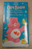 Care Bears Lotsa Heart's Wish Vhs Order On The Court Love-a-lot 2002 Sealed