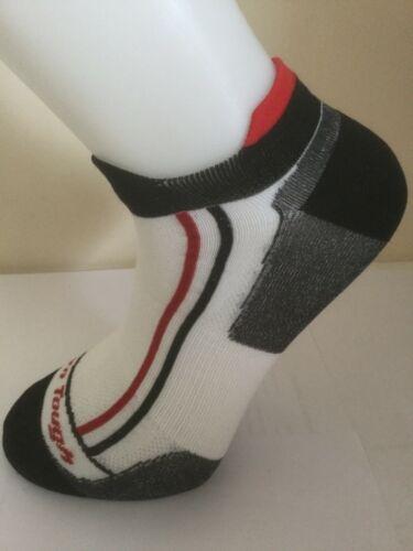 Large size Darn Tough merino wool men's biking socks no show tab ultra light