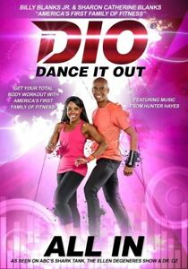 DANCE IT OUT ALL IN DVD BILLY BLANKS JR NEW SEALED SEEN ON SHARK TANK
