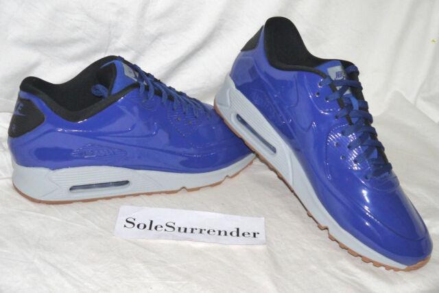 0176da8820 Nike Air Max 90 VT QS Mens Running Shoes 14 Deep Royal Blue Wolf ...
