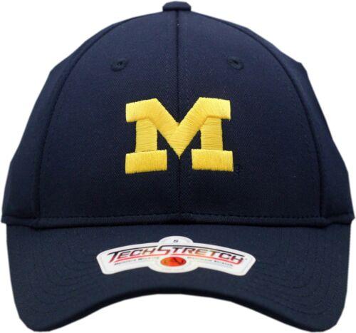 Michigan Wolverines Flex Fit Hat Tech Stretch