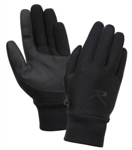 Souple-Coque-Gants-Coupe-Vent-Impermeable-Respirant-Temps-Froid-Rothco-4464