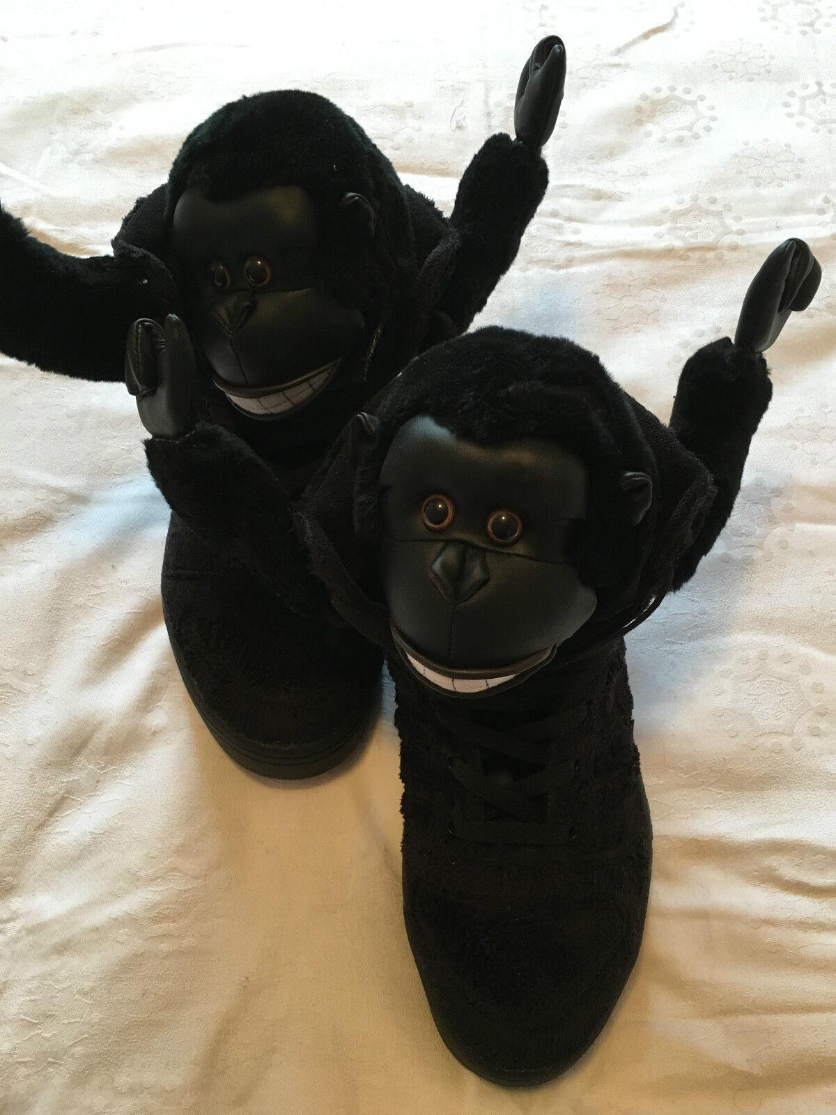 Adidas Originals Jeremy Scott  Hi & JS Gorilla sneakers monkey Taille 11,5
