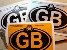 VAUXHALL logo su GB ovali adesivo auto 12.7cm/125mm Corsa Astra Viva Chevette