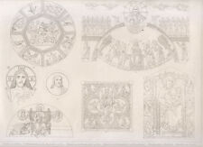 1850 Arti figurative Varie pitture, Cimabue,....  bulino