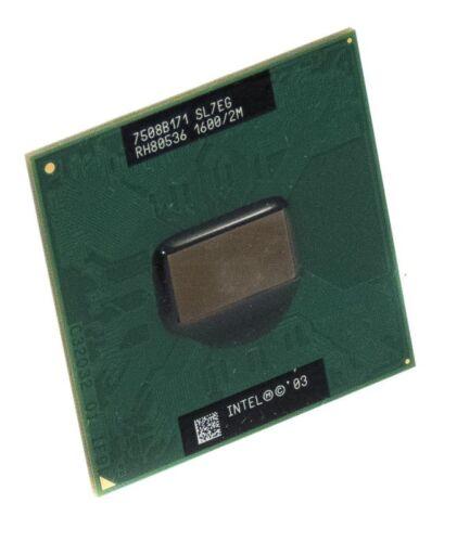 1 of 1 - CPU INTEL PENTIUM M SL7EG 1.6 GHz S478 L2 CACHE 2MB