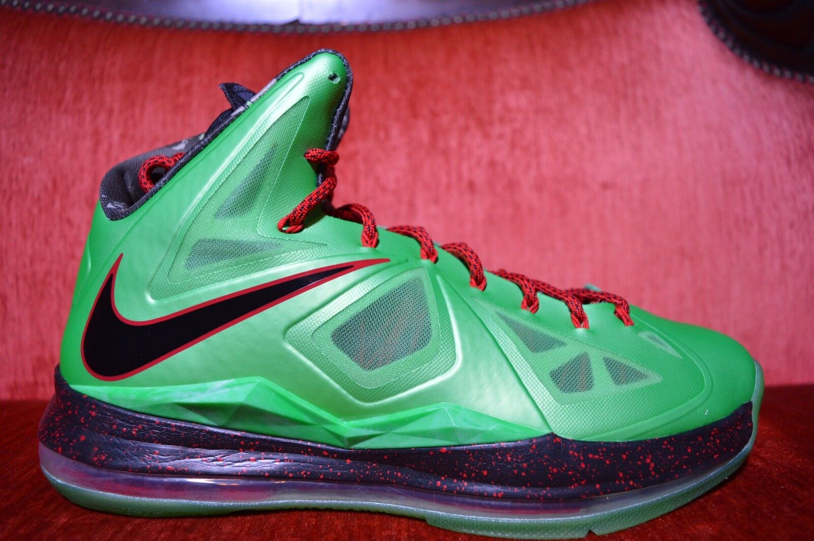 CLEAN Nike Lebron X 10 CUTTING JADE Comfortable best-selling model of the brand