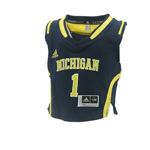 Michigan Wolverines Official NCAA Adidas Baby Infant Size ...