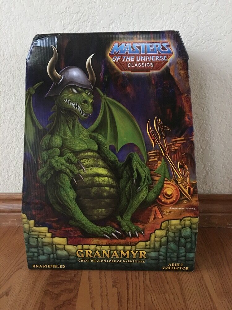 2016  energia-Con Exclusive Masters of the Universe MOTUC verde GRANAMYR  wholesape economico