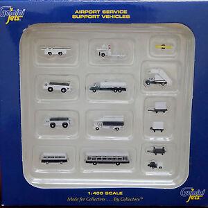 Gemini-Jets-Airport-Service-Support-Vehicles-14-Piece-Set-GJARPTSETA-1-400-New