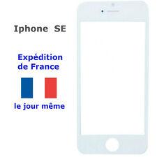 VITRE avant écran Apple Iphone SE BLANC ( remplacement sur LCD Tactile )