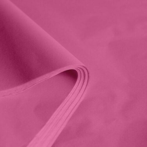 """Pink Acid-Free Tissue Paper 50cm x 75cm 20/"""" x 30/"""" 14gsm FREE UK DELIVERY"""