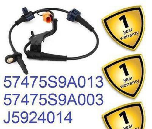 Honda CRV III 2.2 i-CTDi 2007-12 Rear Left ABS Sensor 57475S9A013 57475S9A003 UK