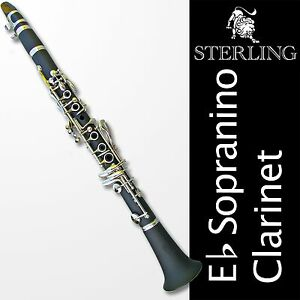 Eb-SOPRANINO-Mini-Clarinet-Highest-Quality-BRAND-NEW-Complete-With-Case