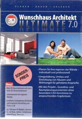 Bhv - 3d Desiderio Casa Architetto 7.0 Ultimate-software-pc-nuovo/scatola Originale-