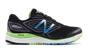 outlet store 56366 7d62b Details about Women's NEW BALANCE 880v7 RUNNING SHOES Sz 6 B Distance Black  & Green W880BB7