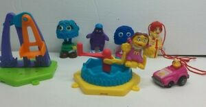 Lot of Vintage McDonald McDonaldland Happy Meal TOY 1989 Fry 1990 Carnival 1985