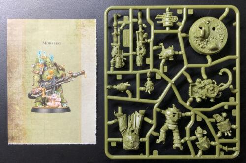 Warhammer 40K Space Marine Heroes Series 3 Death Guard Plaguespitter