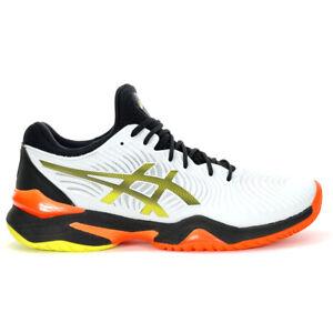 ASICS Men's Court FF White/Black Tennis Shoes 1041A083.100 NEW