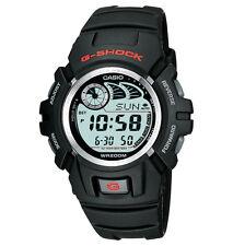 Casio G2900F-1V, G-Shock Digital Watch, Black Resin Band, 4 Alarms